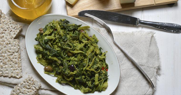 Broccoletti alle olive taggiasche