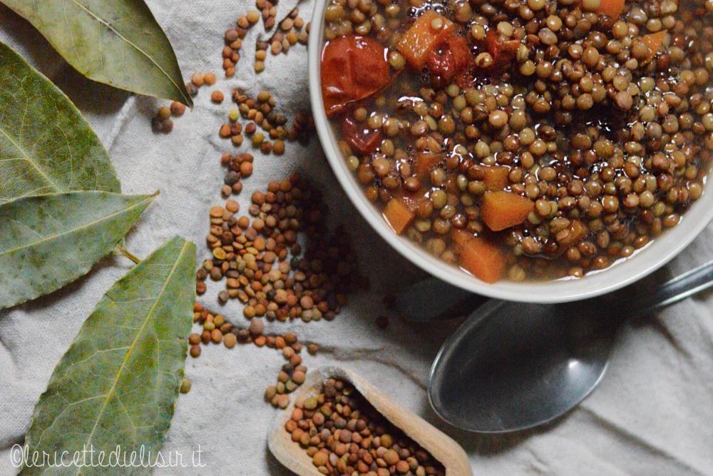 Lenticchie in umido le ricette di elisir