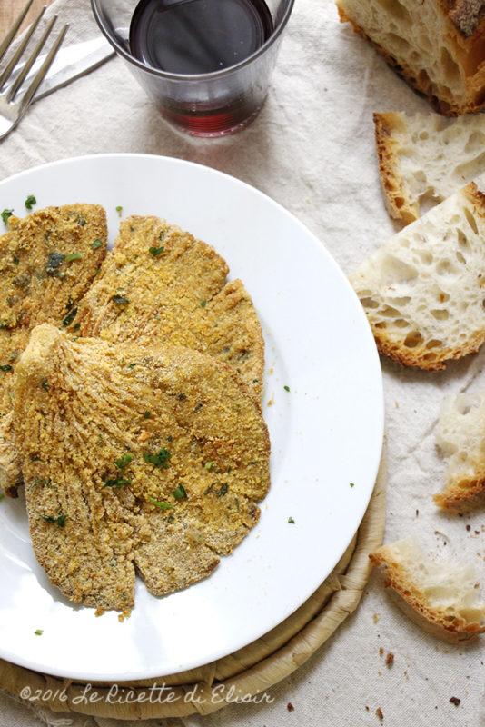 Cotolette di funghi al forno le ricette di elisir