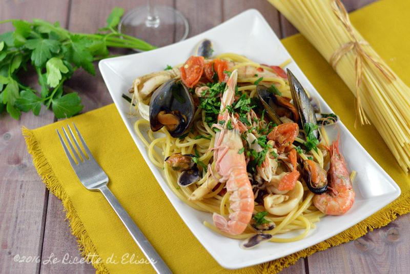 Spaghetti allo scoglio ricetta di pesce