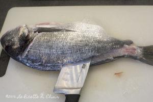 come sfilettare il pesce orata 6