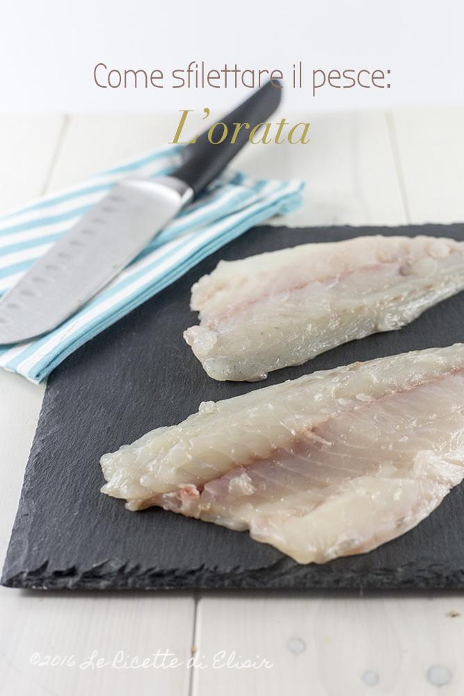 Come sfilettare il pesce orata come sfilettare l 39 orata - Come cucinare il pesce serra ...