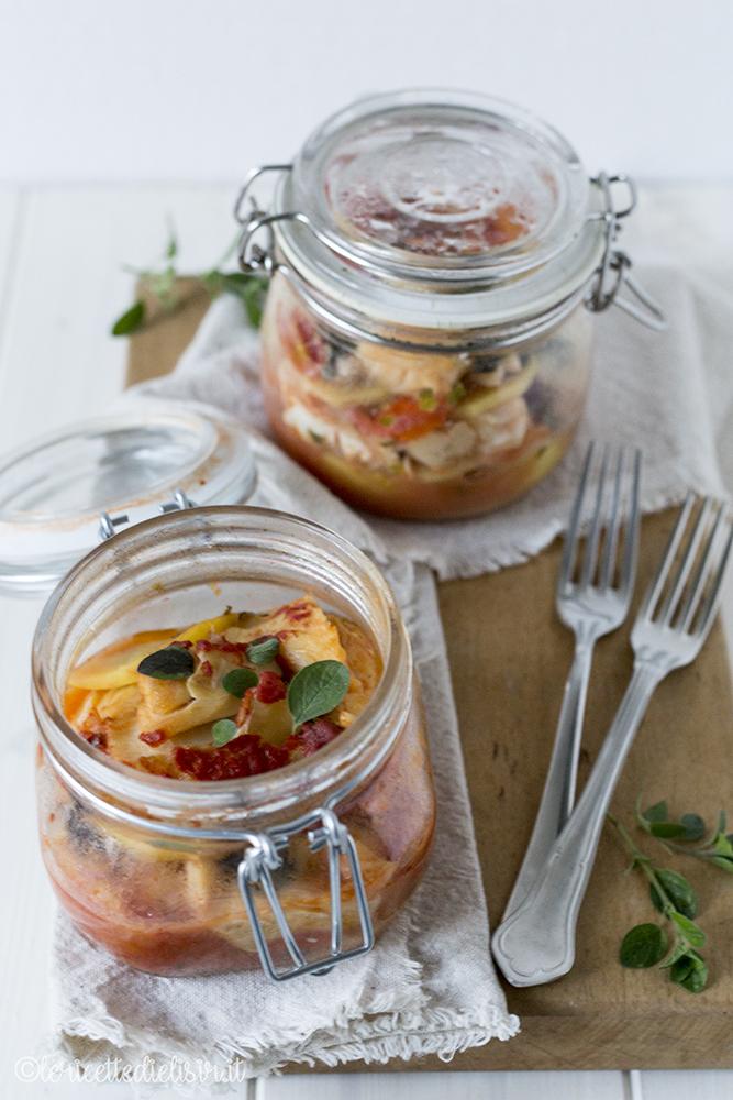 Baccalà in vasocottura con pomodori e patate le ricette di elisir