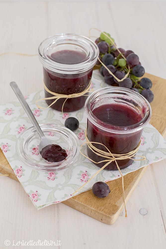 Confettura di uva fragola le ricette di elisir