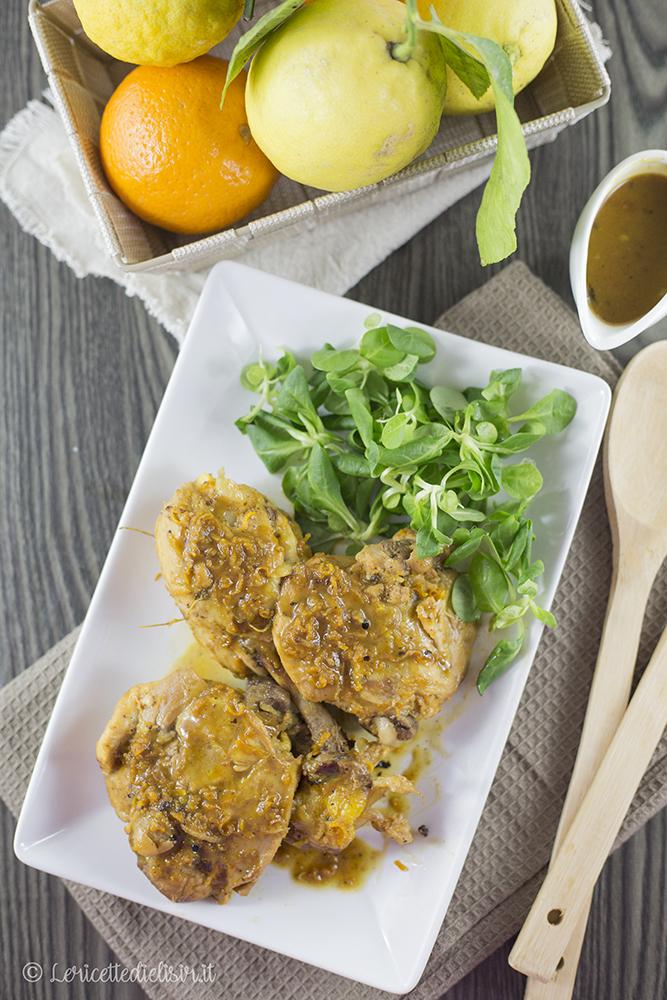 Pollo agli agrumi le ricette di elisir