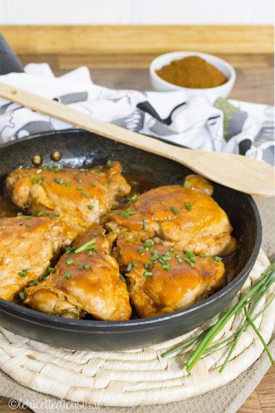 Sovracosce di pollo alla paprika le ricette di elisir