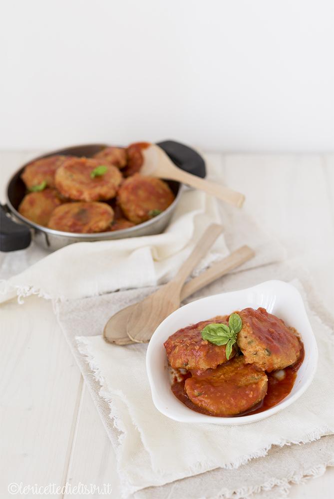 Polpette di ceci e zucca al pomodoro le ricette di elisir