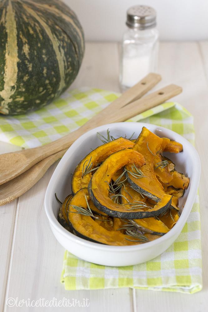 Zucca al forno facile e saporita le ricette di elisir
