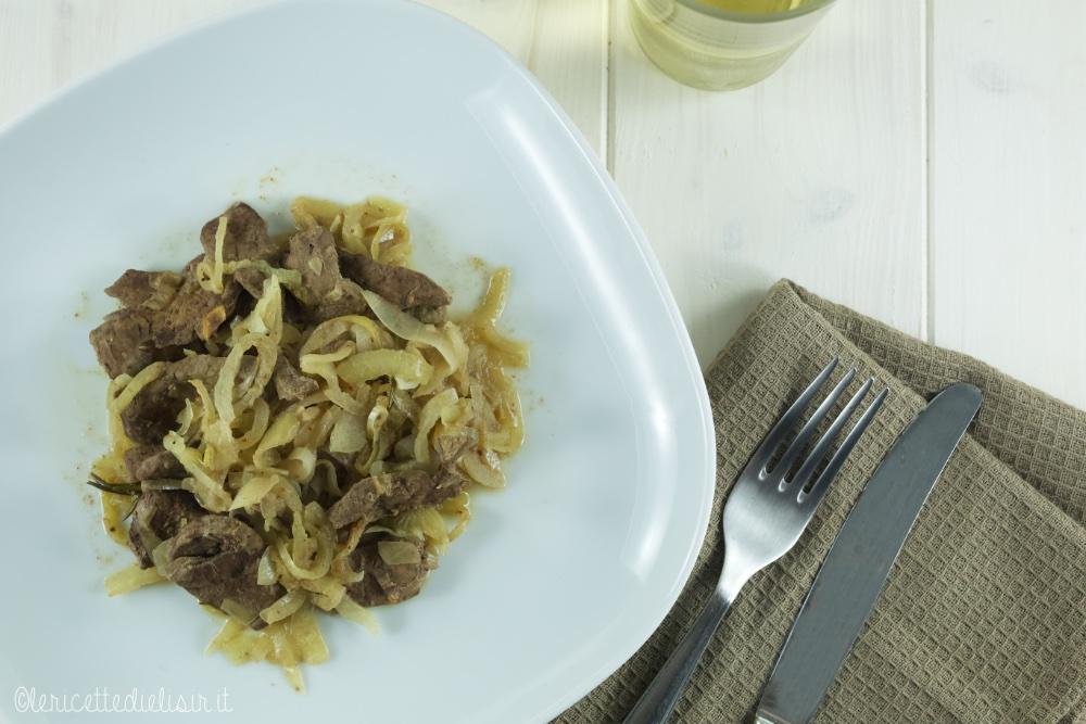 Fegato alla veneziana le ricette di elisir