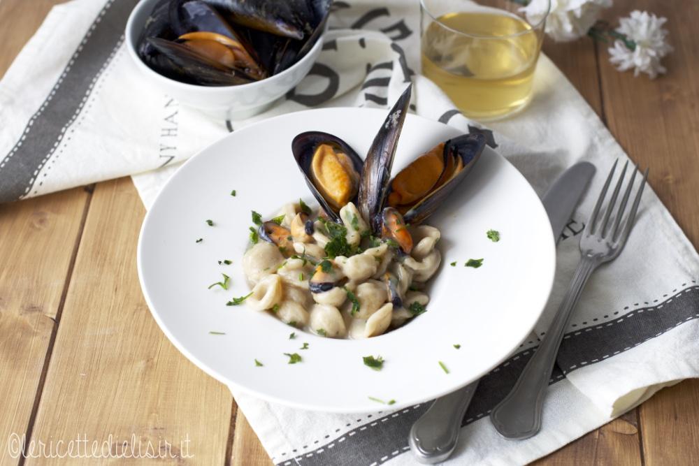 Pasta alle cozze e pecorino le ricette di elisir