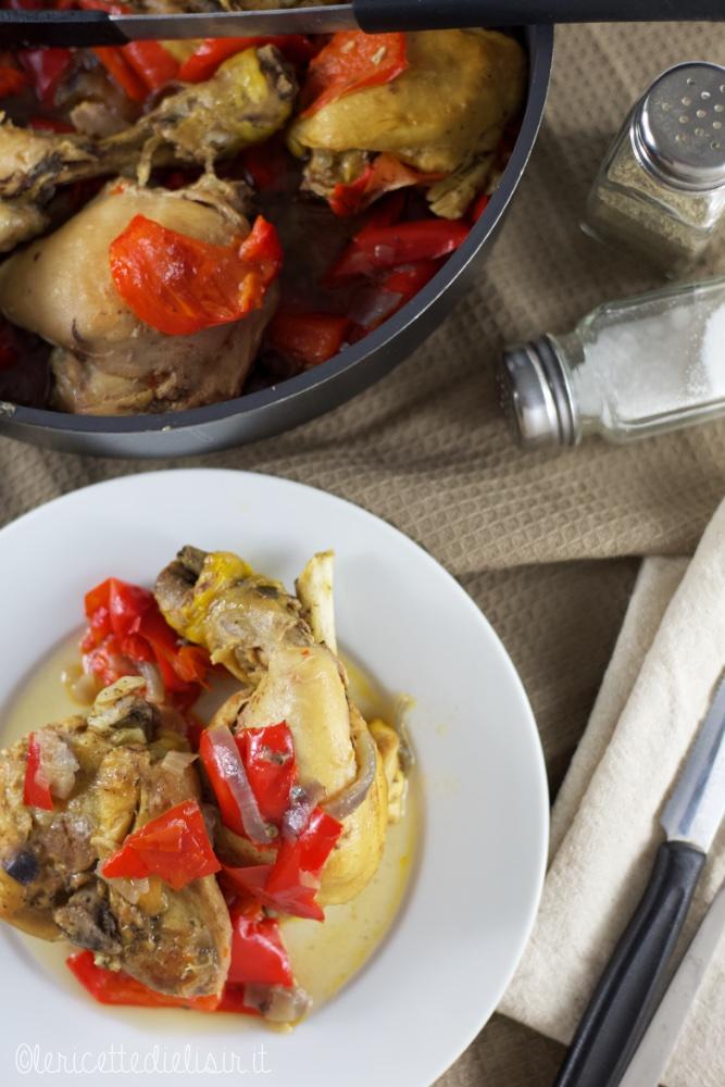 Pollo ai peperoni le ricette di elisir