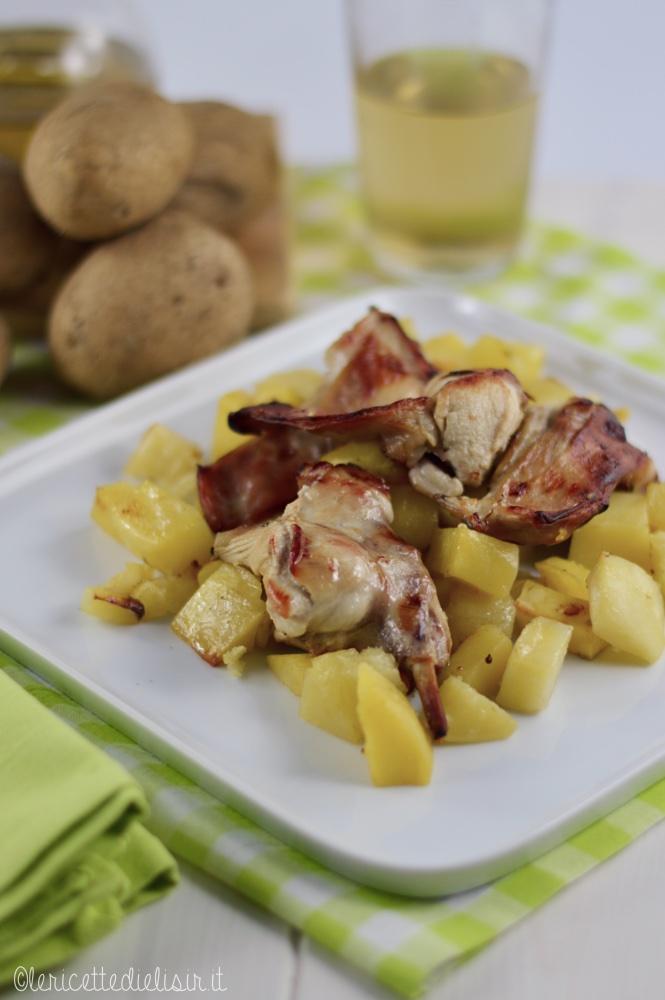 Coniglio al forno con patate le ricette di elisir