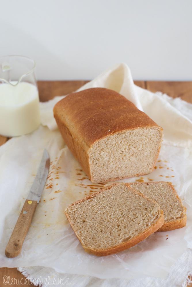 Pan bauletto al latte soffice le ricette di elisir