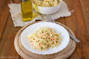 Coleslaw insalata di cavolo americana