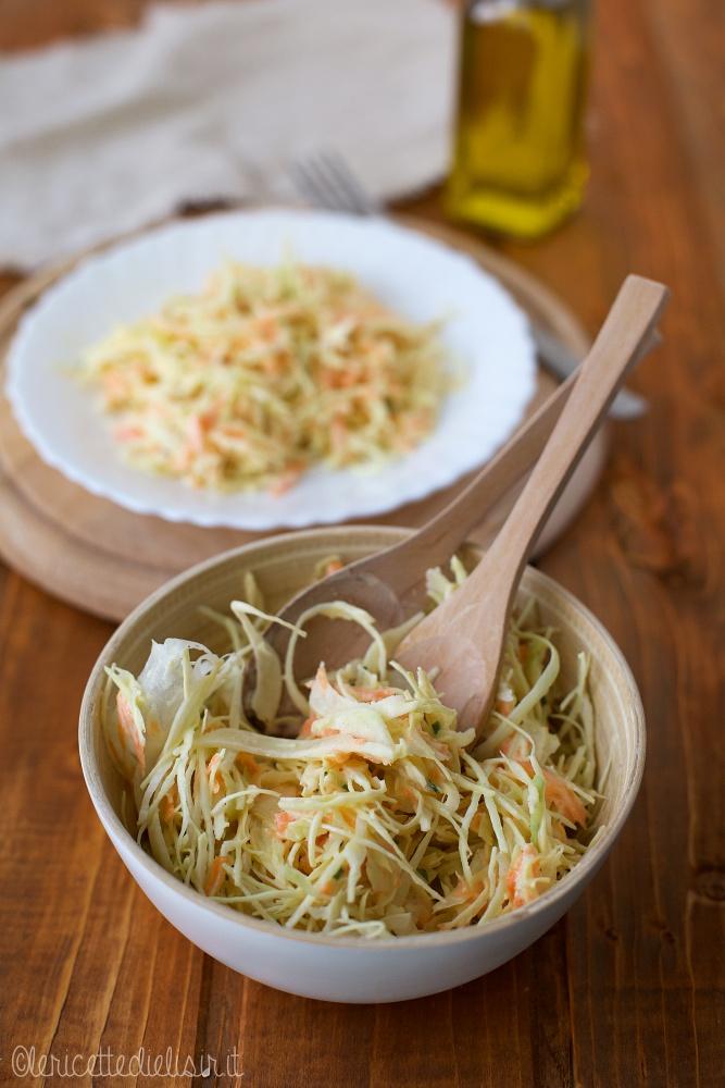 Coleslaw insalata di cavolo le ricette di elisir