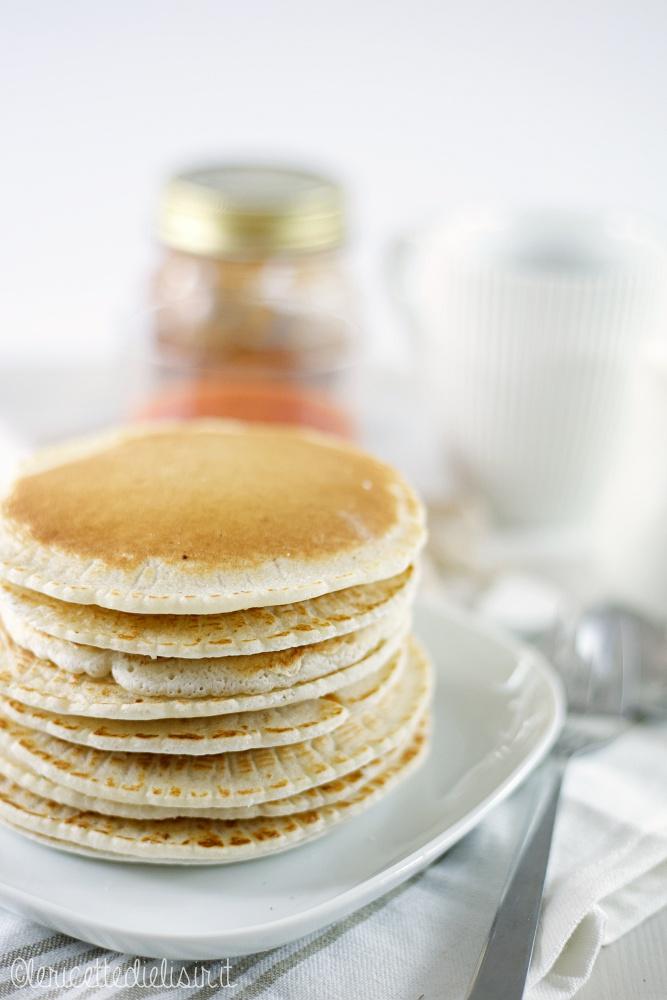 Pancakes alla farina di riso le ricette di elisir