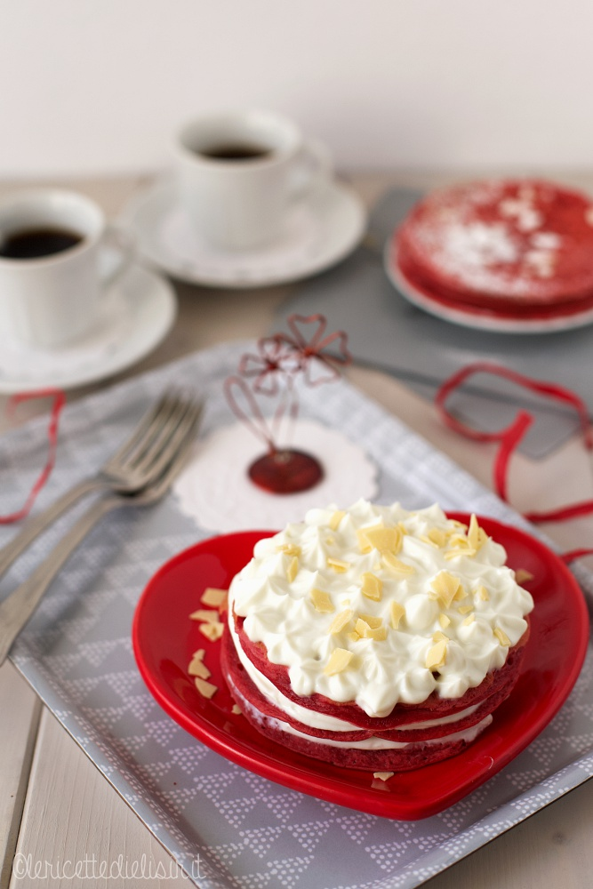 Pancakes San Valentino le ricette di elisir