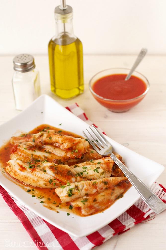 platessa alla pizzaiola le ricette di elisir