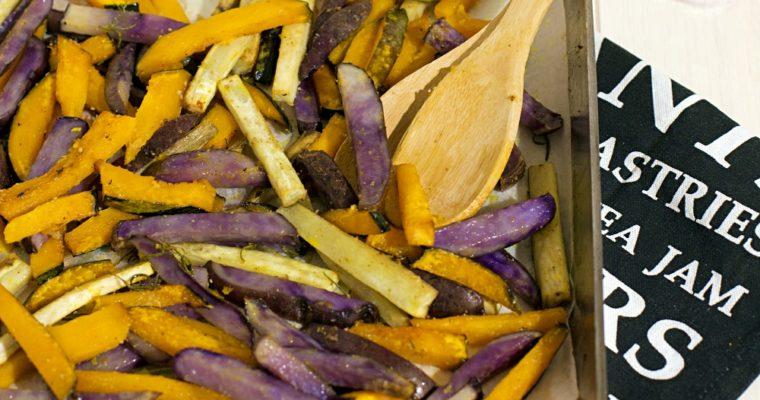 Teglia di zucca e patate al forno gustose