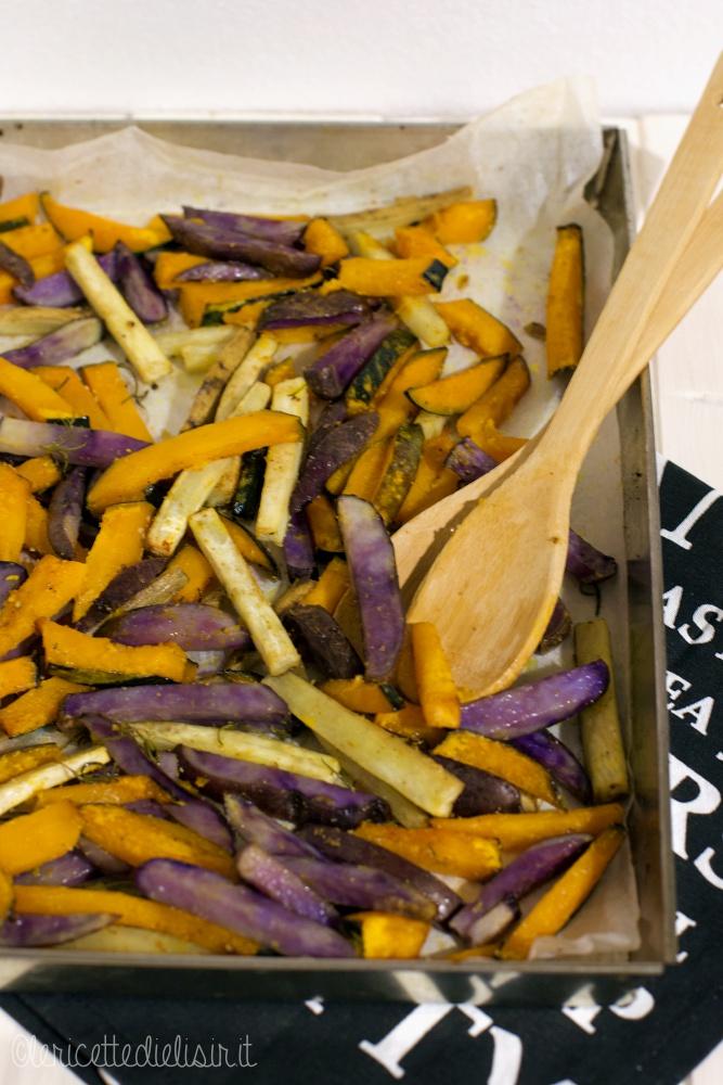 Teglia di zucca e patate le ricette di elisir