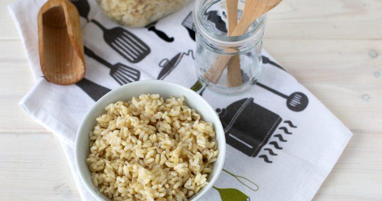 Come cuocere il riso integrale
