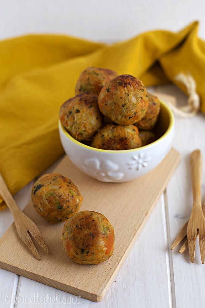 Polpette vegetariane di verdure le ricette di elisir