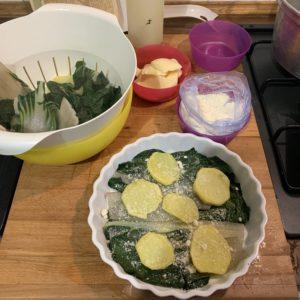 Gratin di bieta e patate le ricette di elisir