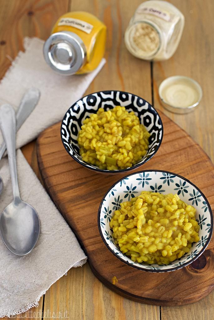 Orzotto al curry speziato le ricette di elisir