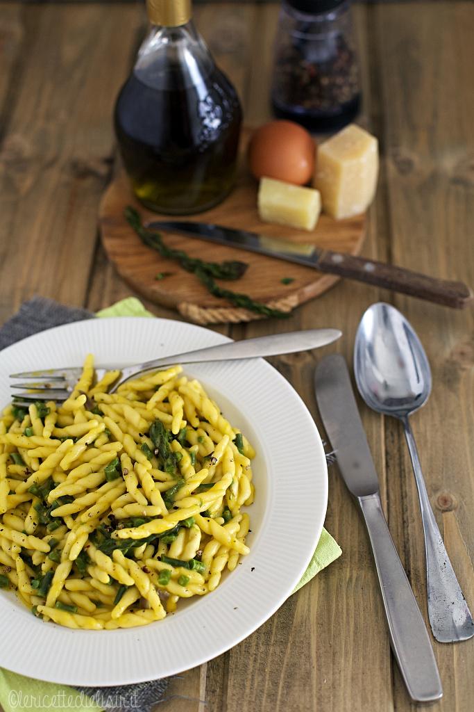 Pasta con asparagi e crema le ricette di elisir