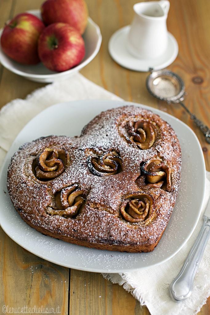 Torta con rose di mela le ricette di elisir