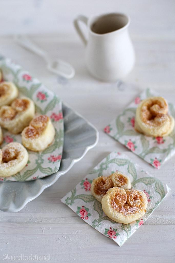 Ventagli dolci di pasta sfoglia le ricette di elisir