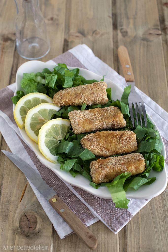 Bastoncini di pesce al forno fatti in casa le ricette di elisir