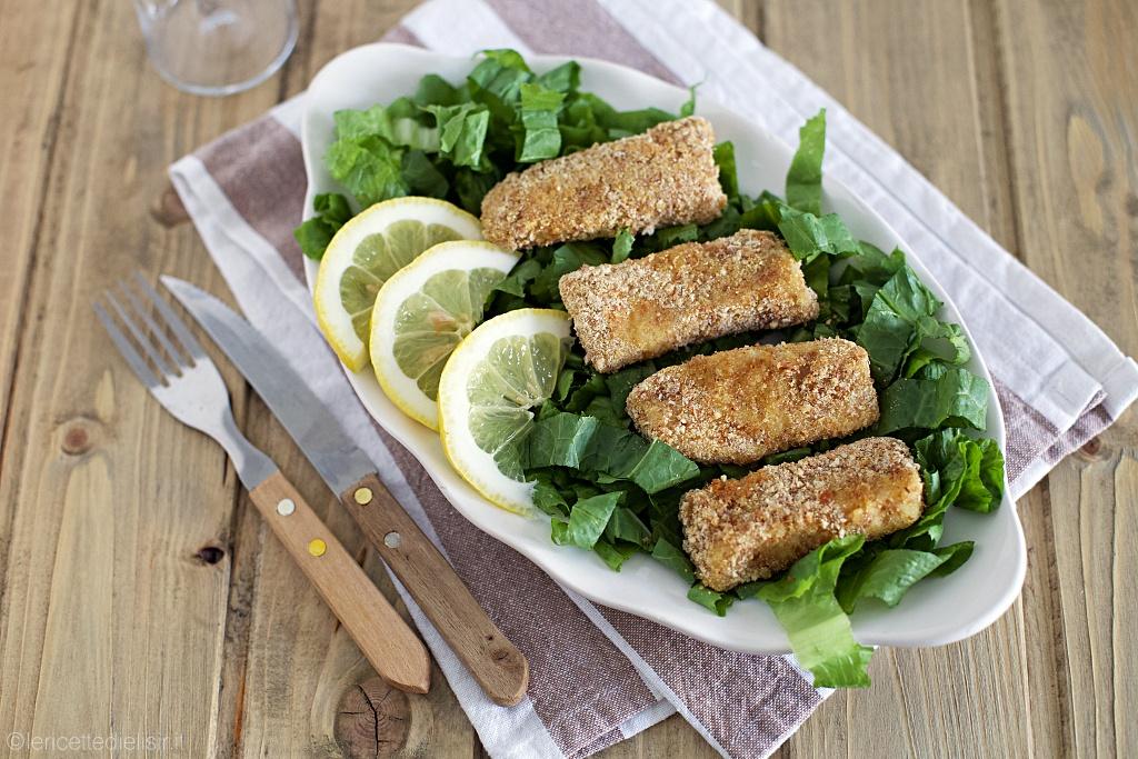 Bastoncini di pesce al forno fatti in casa
