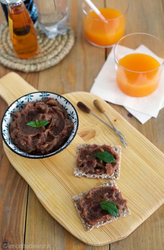 Crema di melanzane e pomodori secchi le ricette di elisir