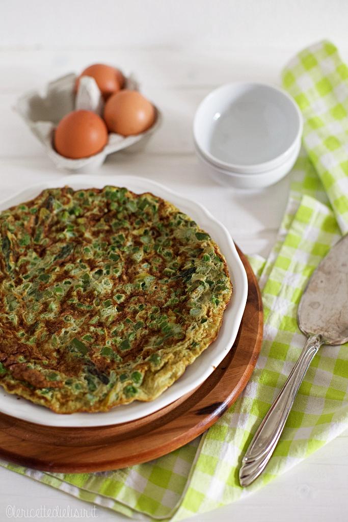Frittata alle verdure di primavera le ricette di elisir