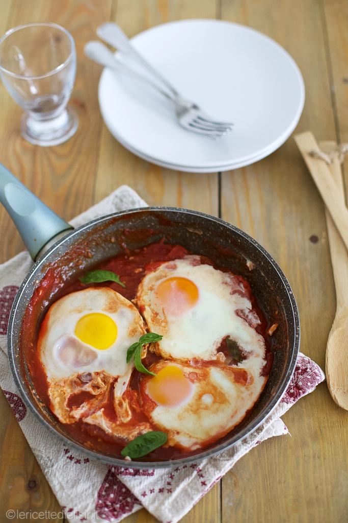 Uova in purgatorio gustose e veloci le ricette di elisir