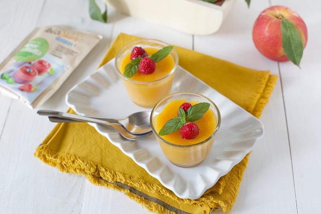 "Dessert alle pesche ""Amor di frutta"""