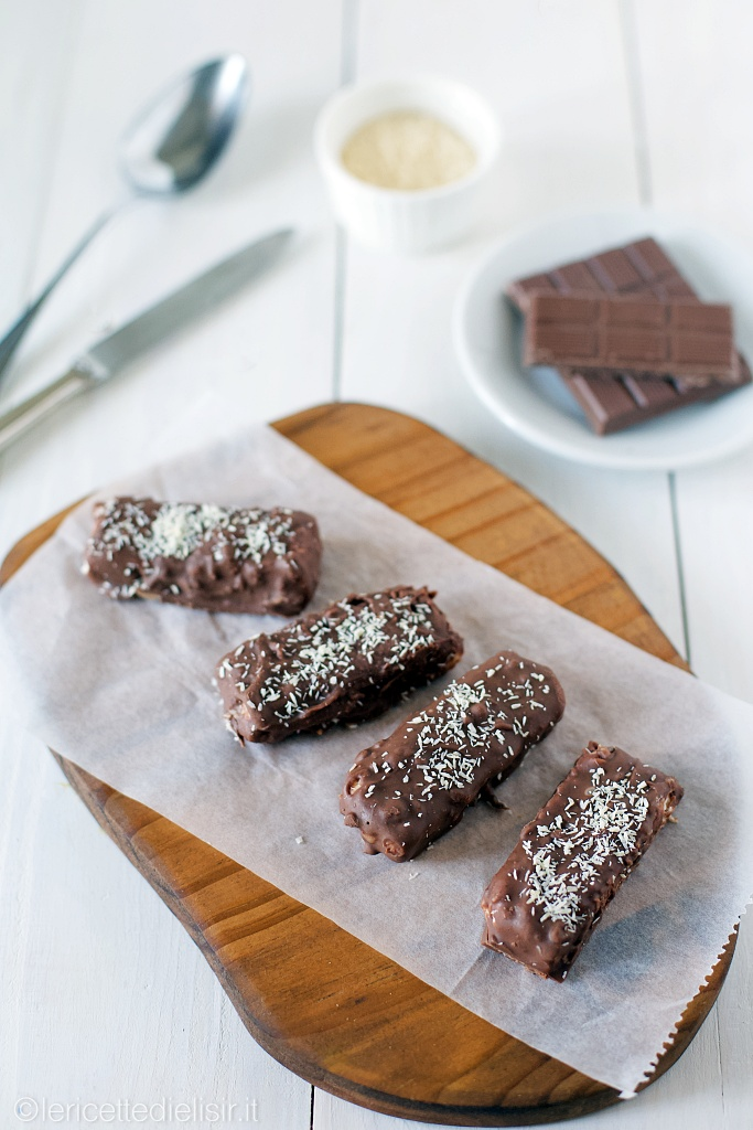 Dolci veloci al cocco e cioccolato