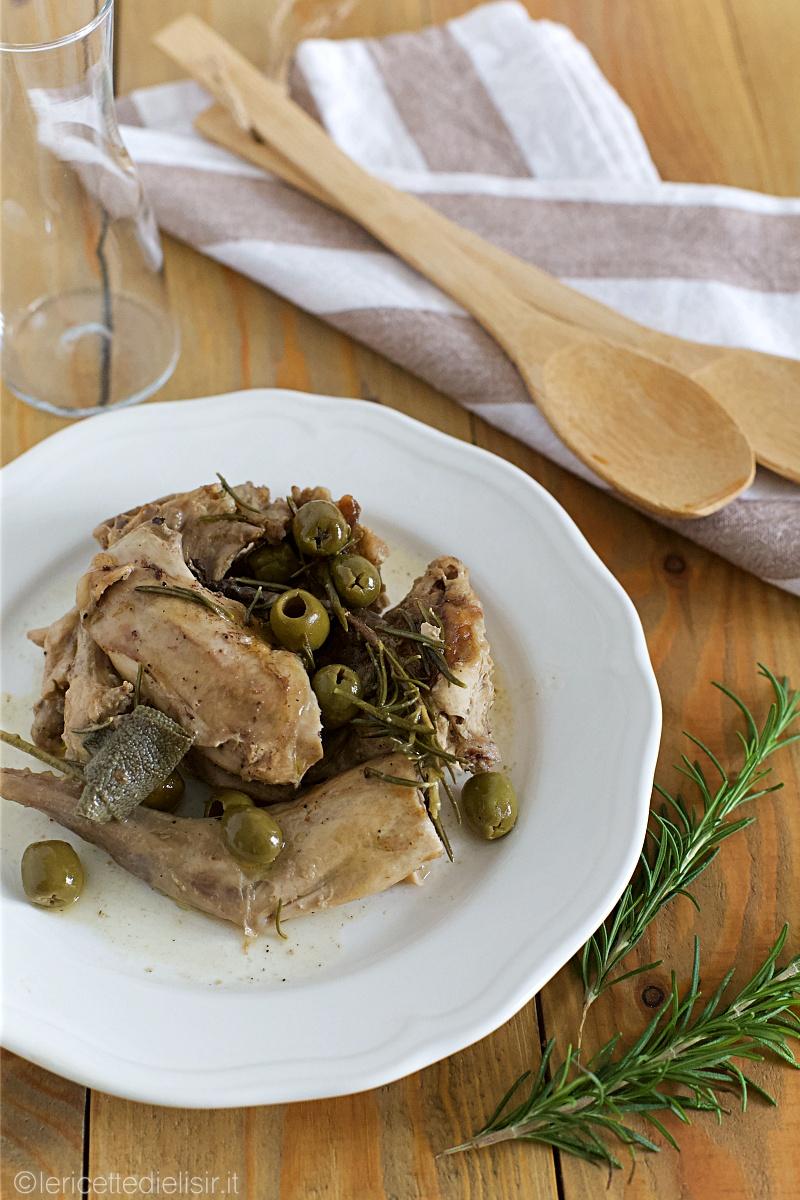 Coniglio alla cacciatora con olive le ricette di elisir