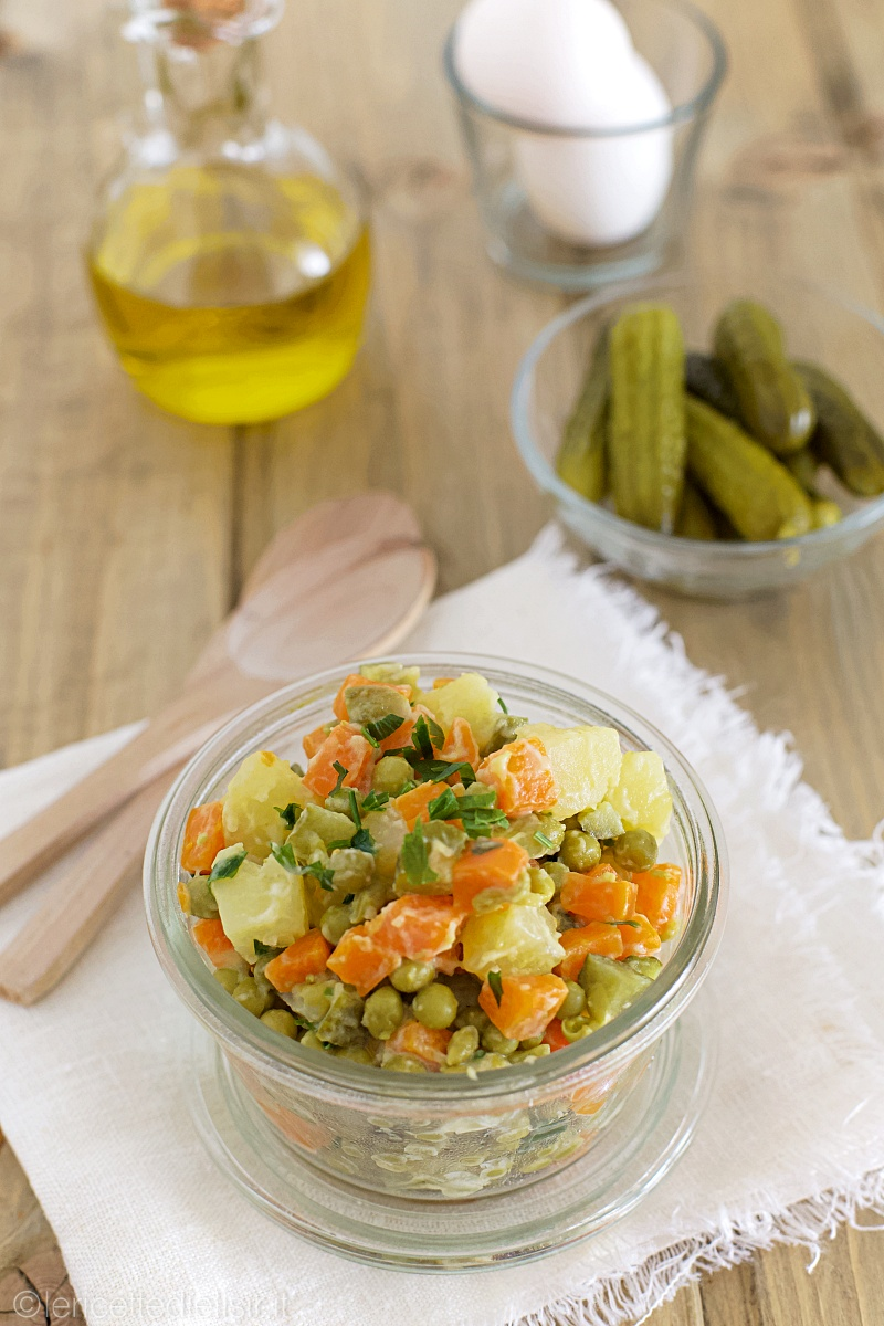 Ricetta insalata russa facile le ricette di elisir