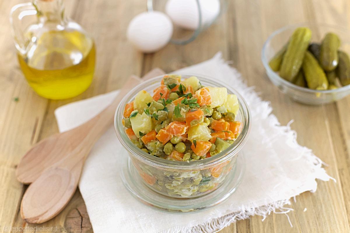 Ricetta insalata russa facile