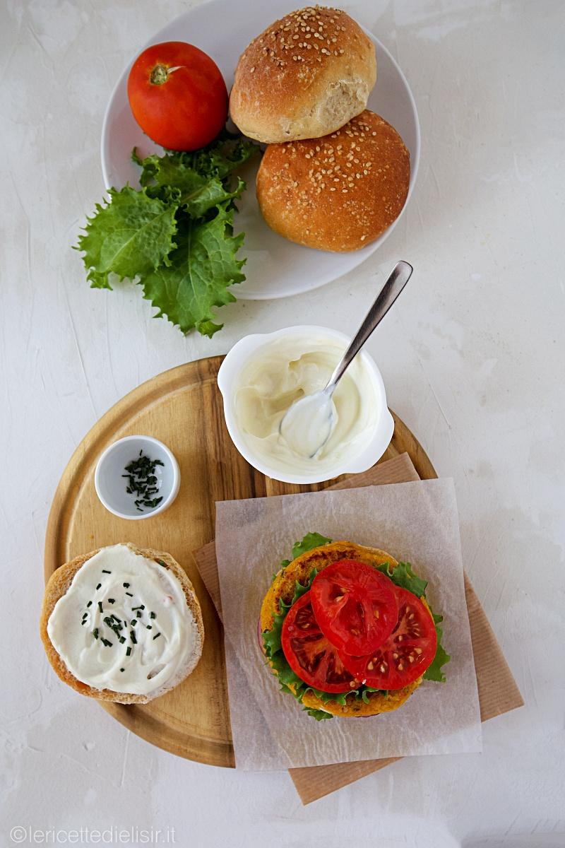 Veggie burger di ceci e zucca le ricette di elisir
