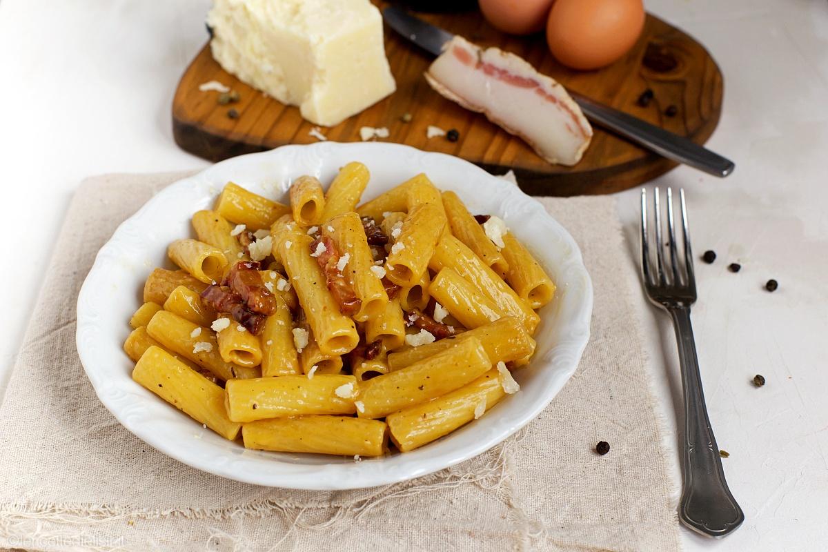 Pasta alla carbonara ricetta tradizionale