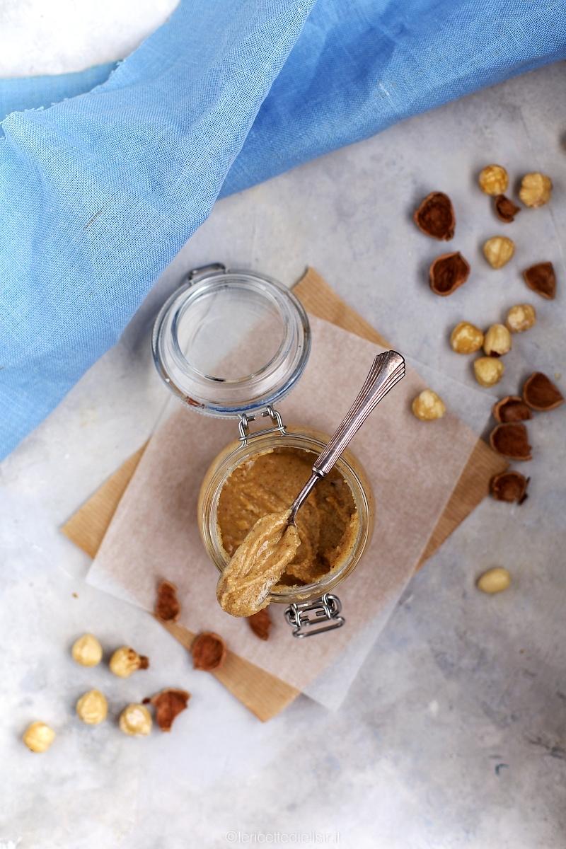 Burro di nocciole tostate homemade