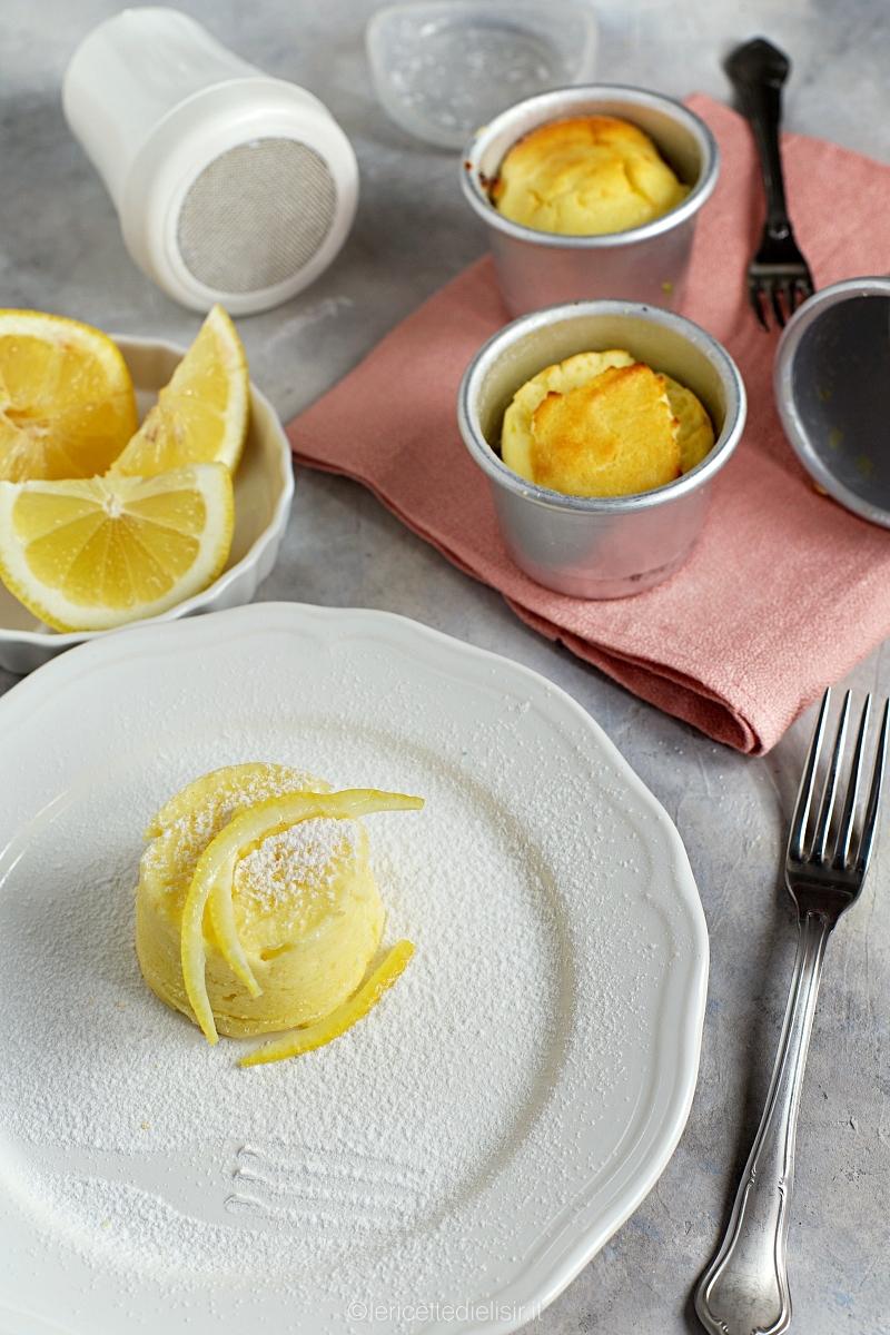 Tortini alla ricotta e limone soffici