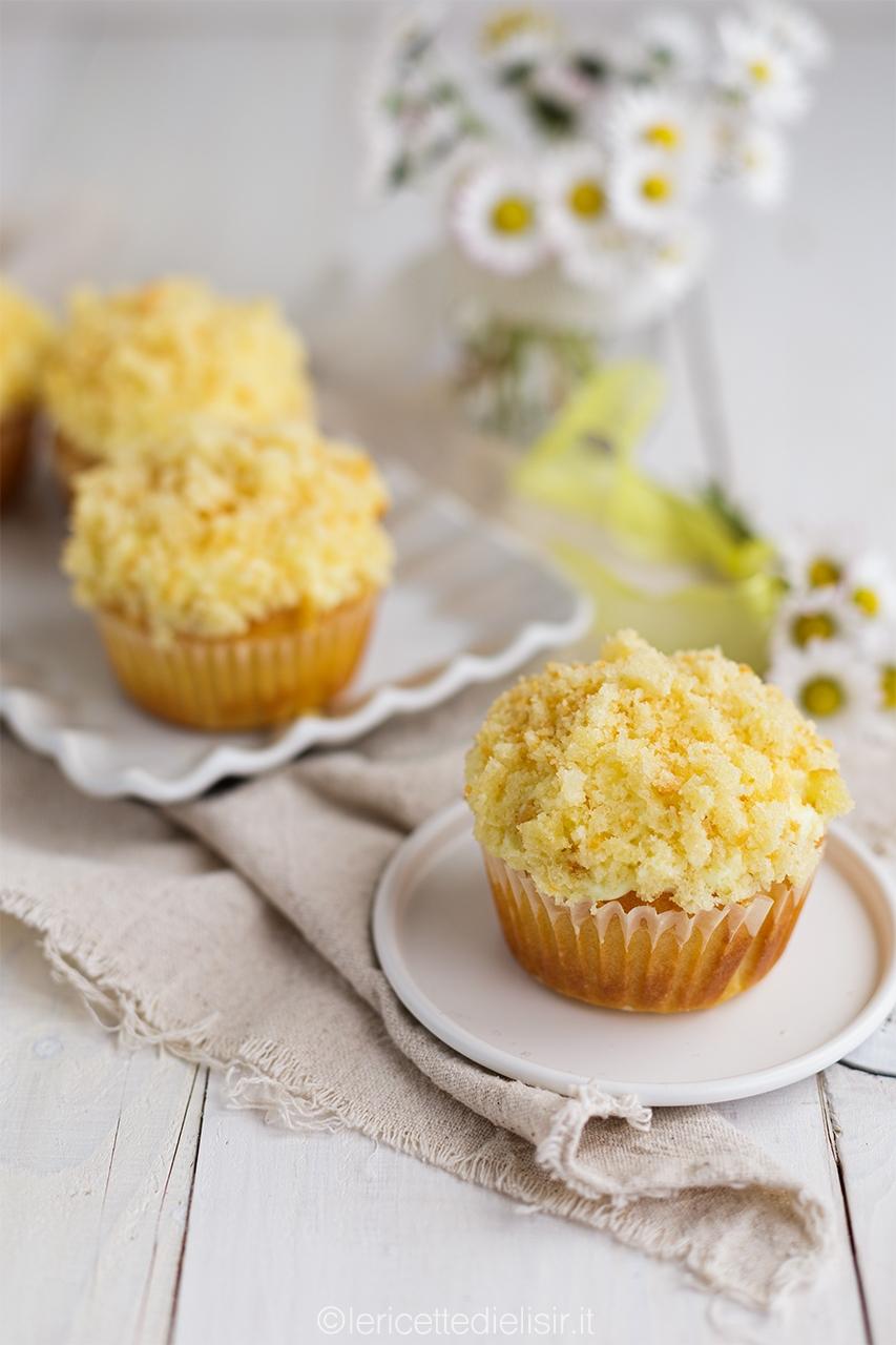 Muffin mimosa sofficissimi e dolci
