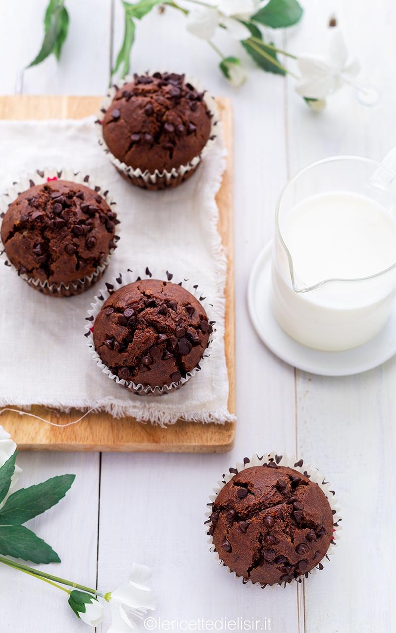 Muffin al cioccolato golosissimi