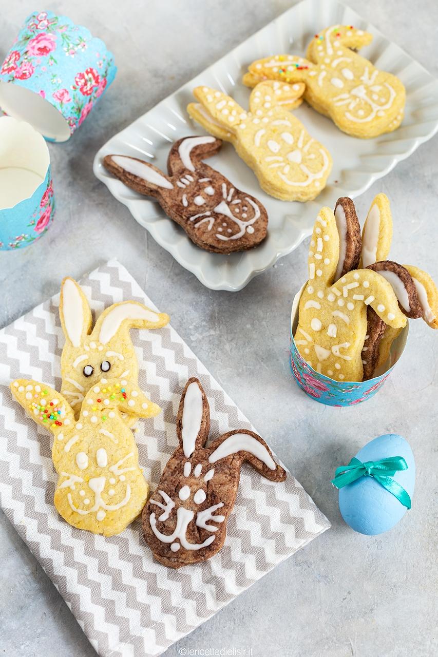 Biscotti coniglietto per festeggiare la Pasqua