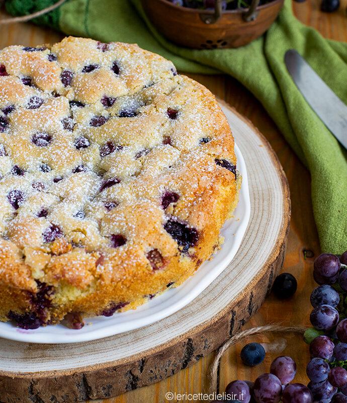 Torta Bertolina, dolce all'uva fragola