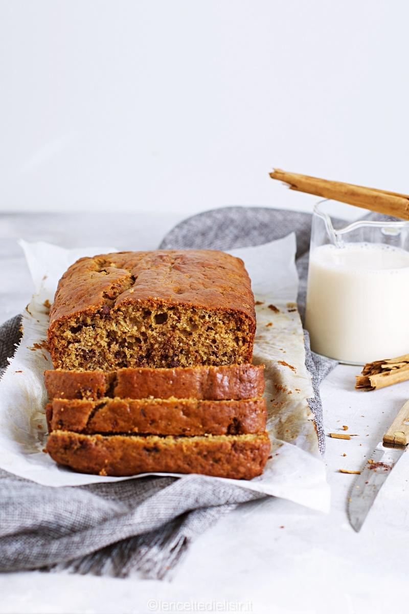 banana bread integrale